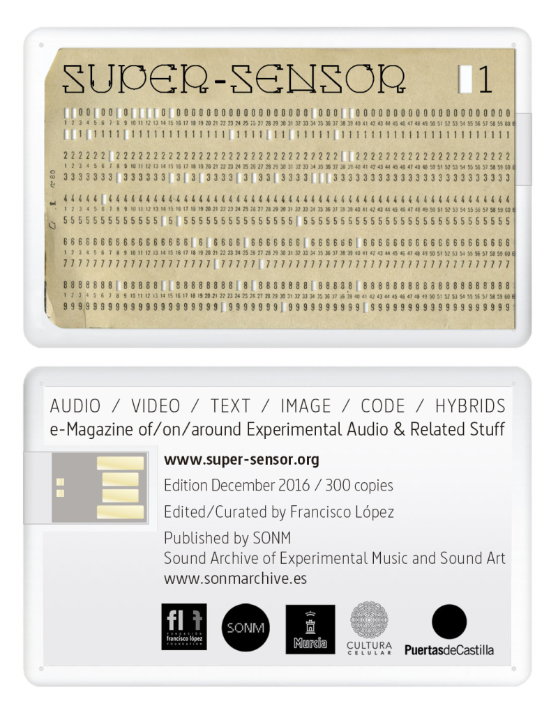 Super-Sensor #1 (physical edition)